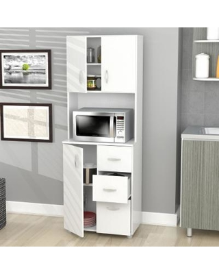 kitchen storage cabinets inval tall kitchen storage cabinet , off-white CPSSHRG