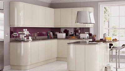 kitchen units handleless high gloss BVXELEY