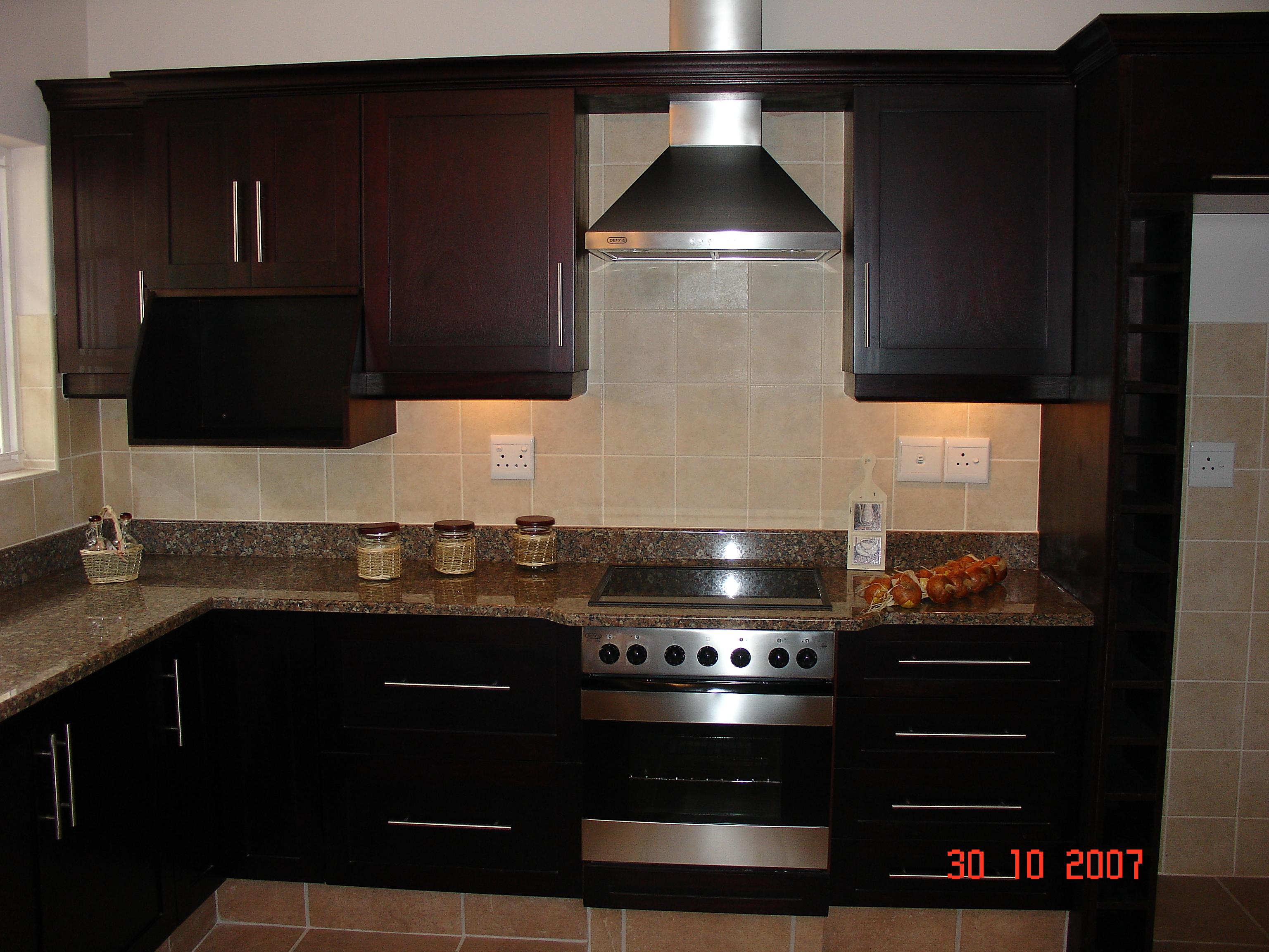 kitchen units mahogany cupboards CWQUDFI