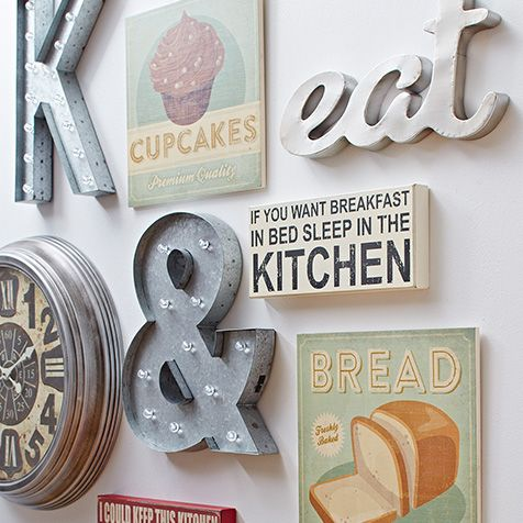 Kitchen wall decor pictures and stickers to accentuate the kitchen ...