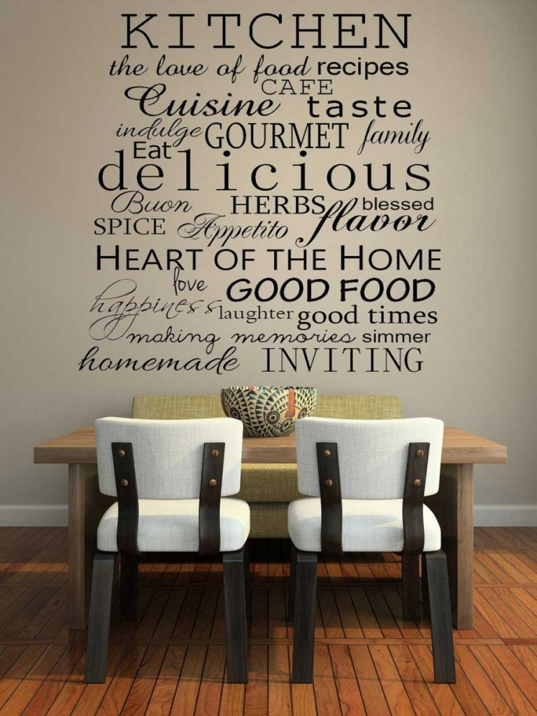 kitchen wall decor … perfect christian wall decals dining room wall decals on kitchen wall OCQDTAK