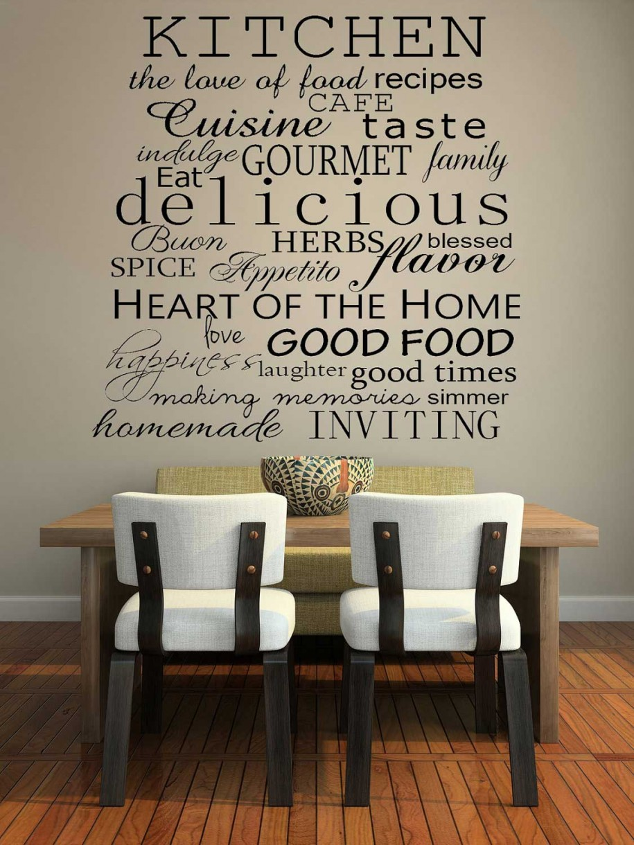 kitchen wall decor ... perfect christian wall decals dining room wall decals on kitchen wall OCQDTAK