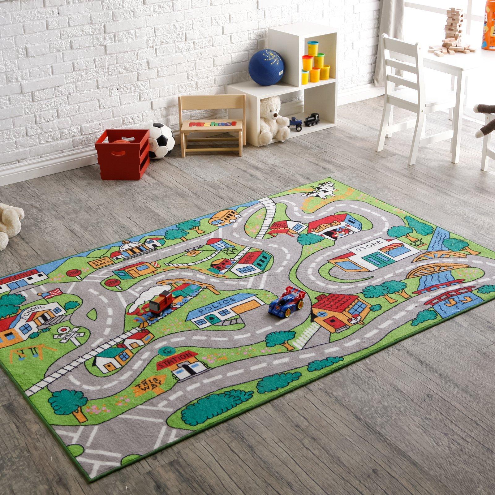 l.a. rugs countryfun kids area rug - kids rugs at hayneedle BBRVBZW