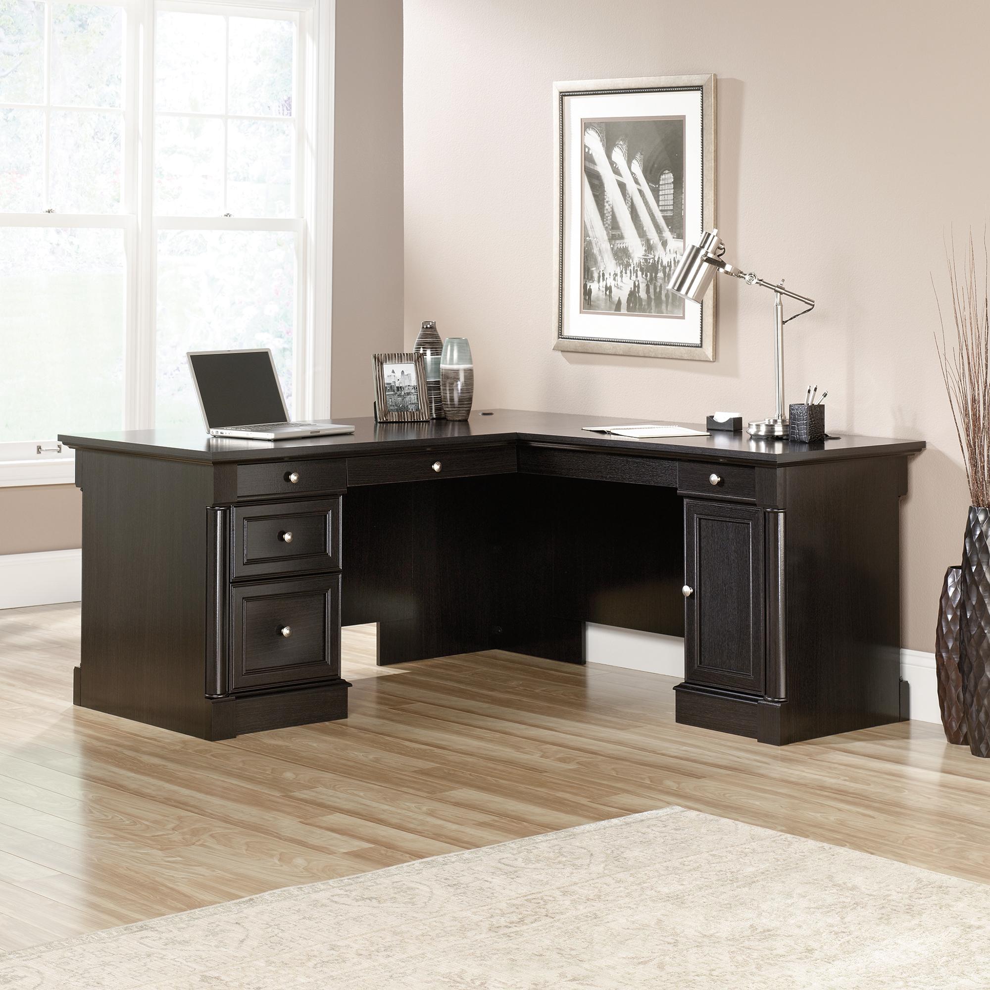 Modern day l-shaped desks