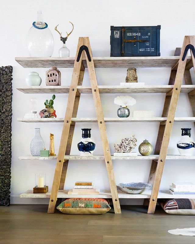 ladder shelves you wonu0027t believe what this beachy boho home used to look like. ladder RVLTAWO