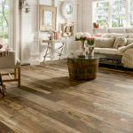 Stylish and contemporary laminate wooden flooring