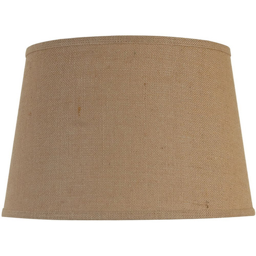 lamp shades better homes and gardens large lamp shade, burlap OTMSKCQ