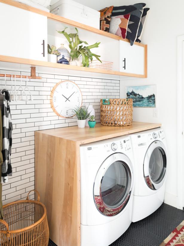 laundry room ideas 13 genius diys to maximize your laundry room 13 photos MJZQRTZ
