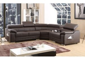 leather corner sofa image is loading dakota-brown-bonded-leather-corner-sofa-right-hand NVUGJZZ