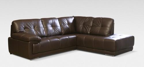 leather corner sofa maxim corner rhf brown NTQCEGK