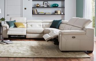 leather corner sofa torino option c 2 corner 2 electric recliner sofa new club iconica MBSQOMQ