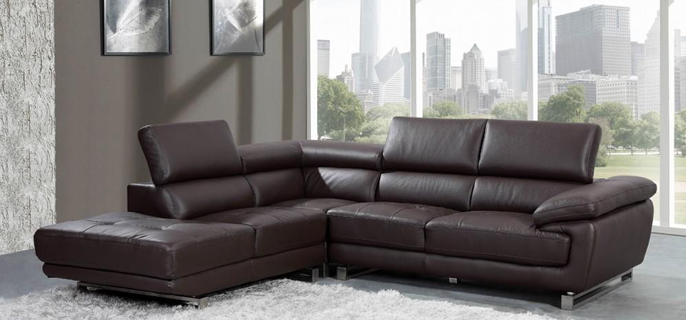 leather corner sofa valencia corner espresso brown h8586lhf SZZEXCP