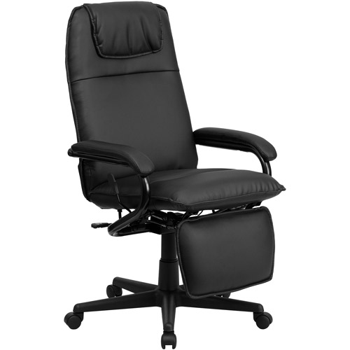 leather office chair flash furniture high back leather executive reclining office chair AEYPZIE