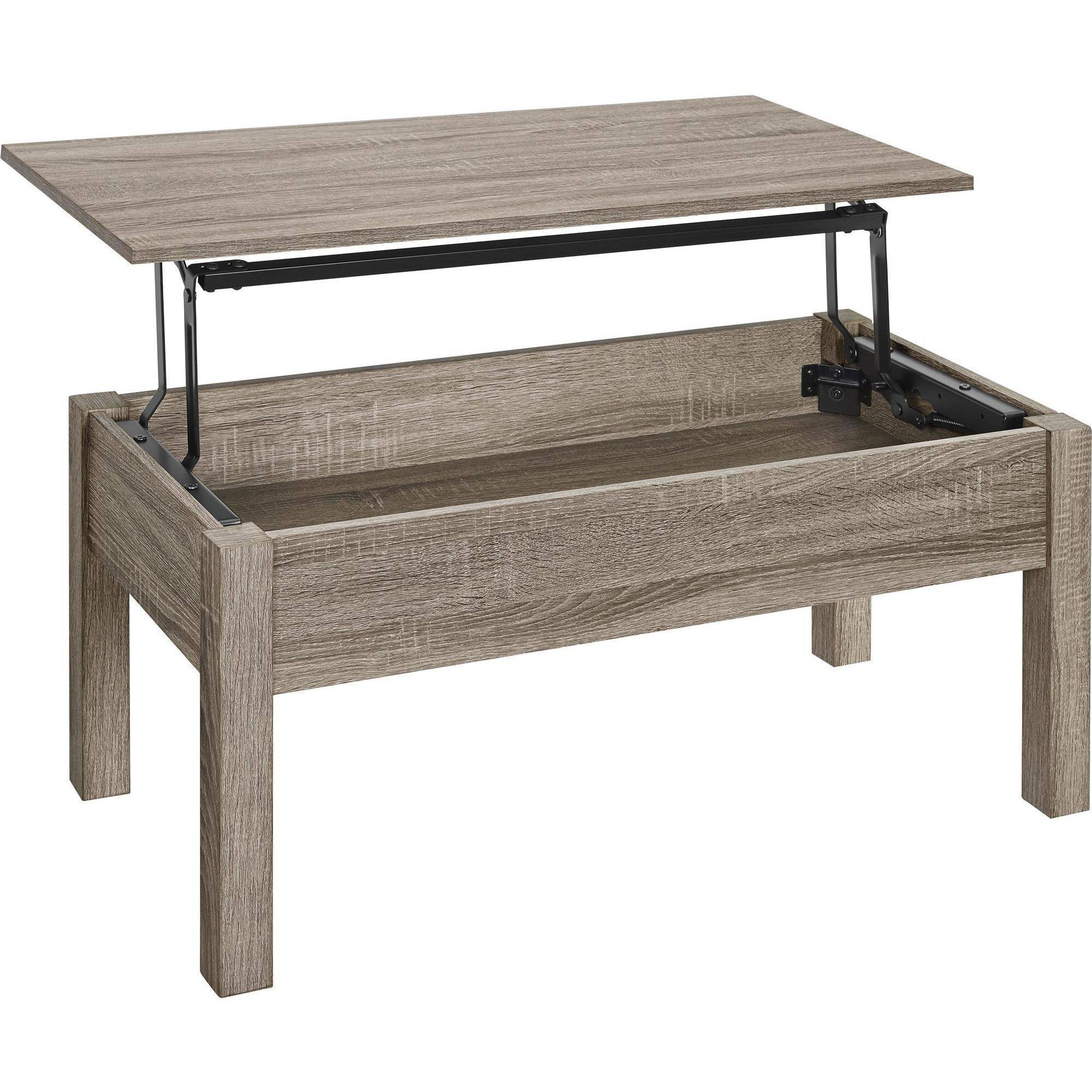 lift top coffee table mainstays lift-top coffee table, multiple colors - walmart.com MHLTKMN