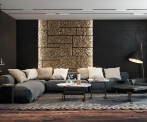 living room interior design love monochromatic decor? AKXIEJQ