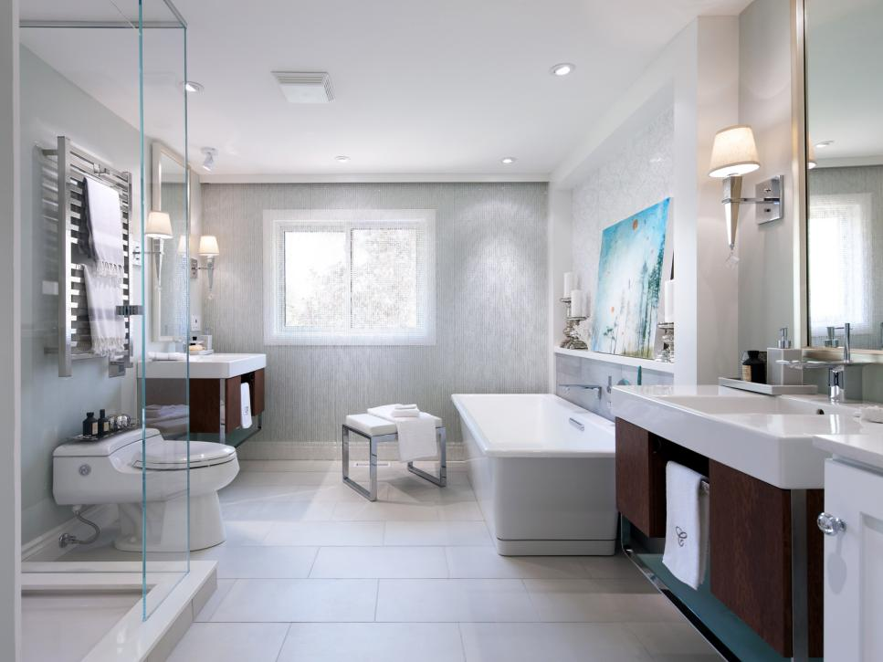 luxury bathrooms gray sophistication WFHKROU