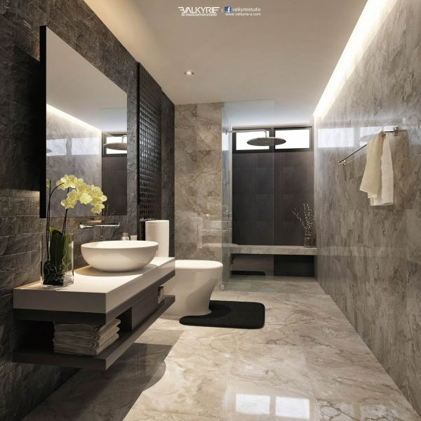 luxury bathrooms looks good! for more home decorating designing ideas visit us at  www.maisonvalenti. XSCYKVC