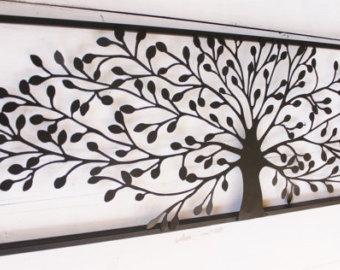 metal wall art decor, metal wall decor, metal tree wall art, tree decor LGJDXEN