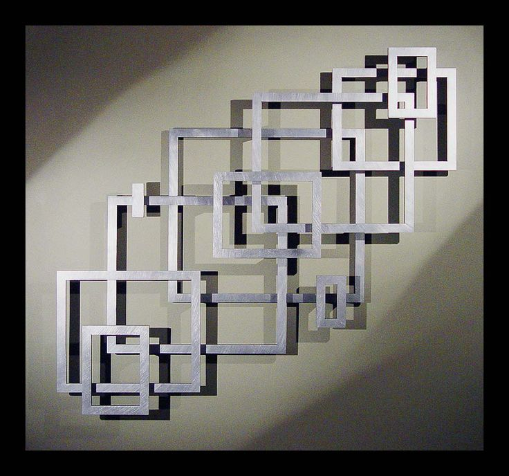 Metal Wall Art Great Layout Inspiration For A Geometric Empty Frame Collage Ouafynr