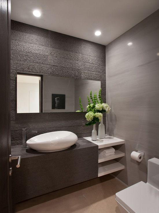 Getting that modern bathroom design
