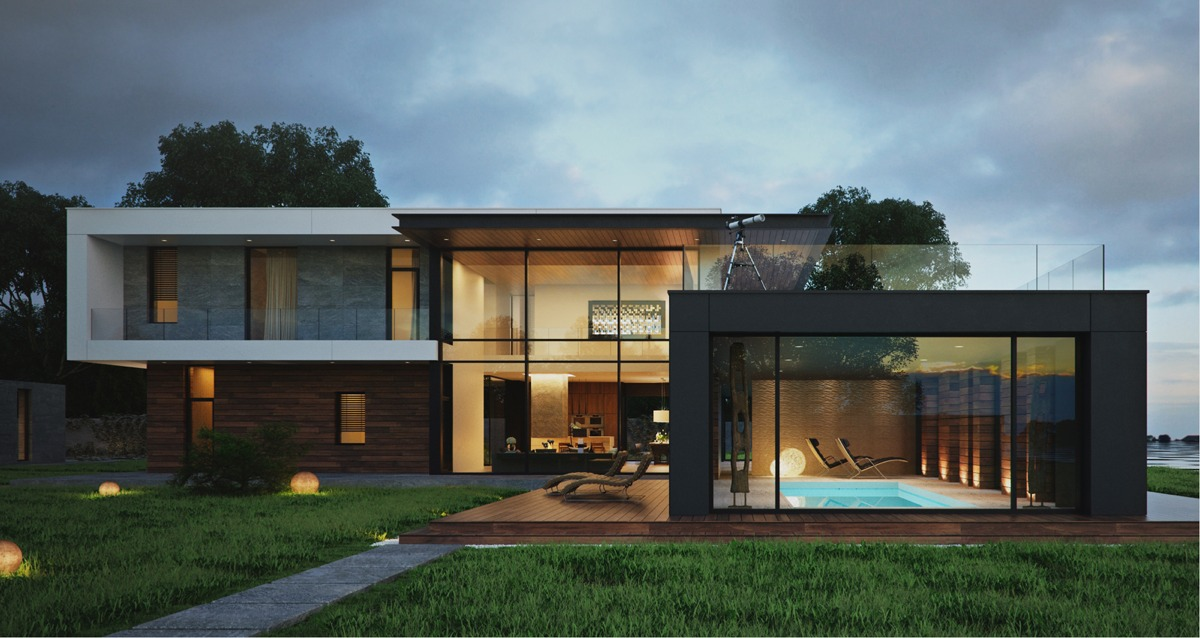 modern house design modern home exteriors with stunning outdoor spaces WIOZDJI