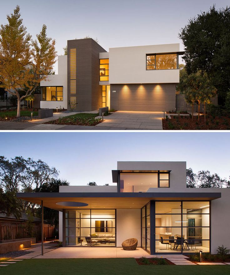 modern house design this lantern inspired house design lights up a california neighborhood UZYBYTC