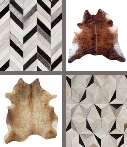 modern rugs cowhide rugs TPVFMTM