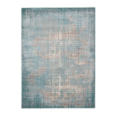 modern rugs nourison - karma rug, blue, ... OPSUBIV