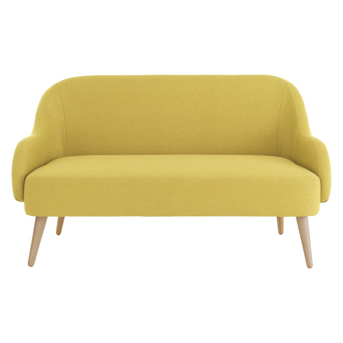 momo saffron yellow fabric 2
