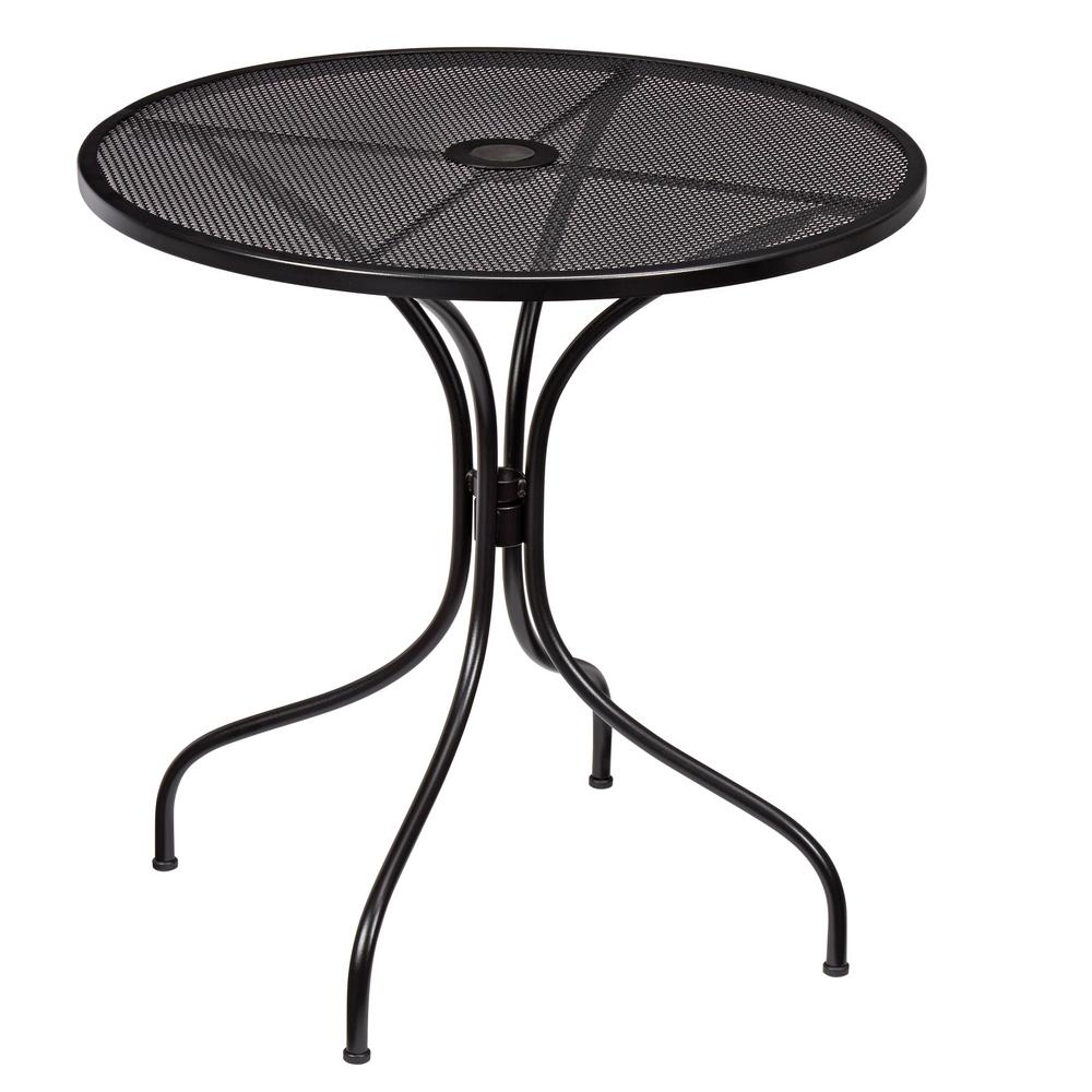 nantucket round metal outdoor bistro table ZOTQTLJ