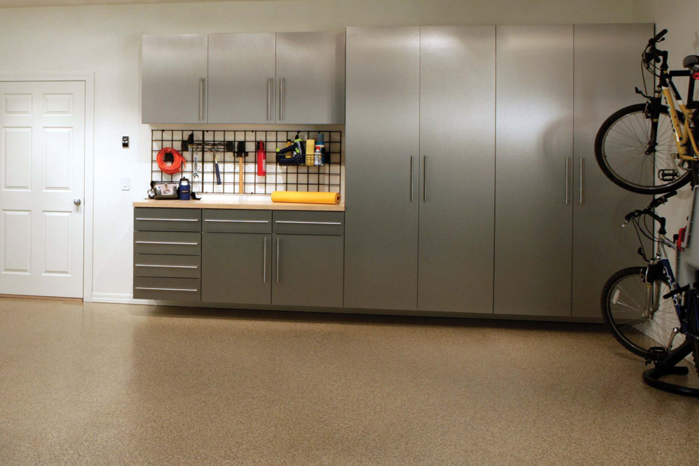 No Space Is Too Small For Garage Cabinets QJVONQH