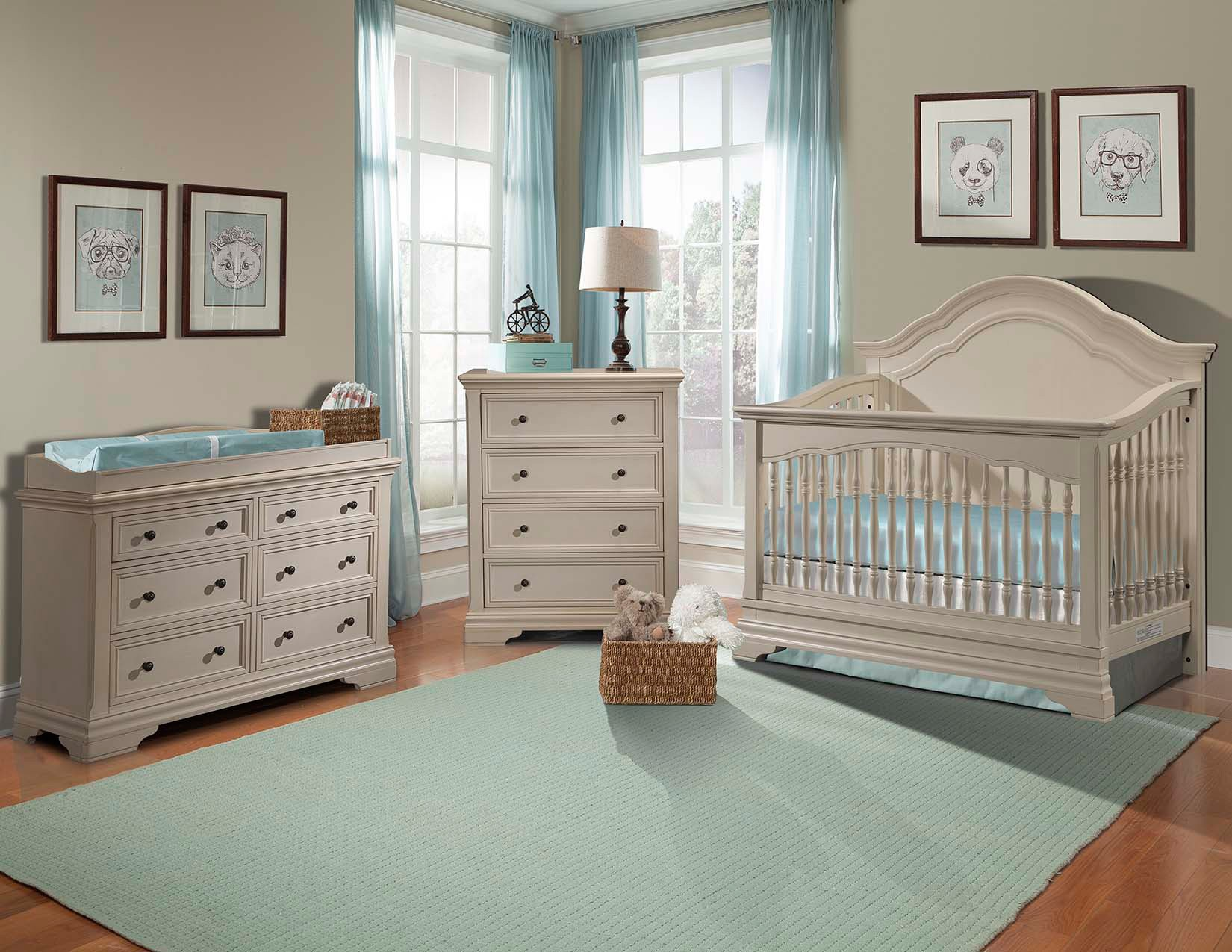 nursery furniture sets stella baby and child athena 3 piece nursery set in belgium cream also UMXCIVK