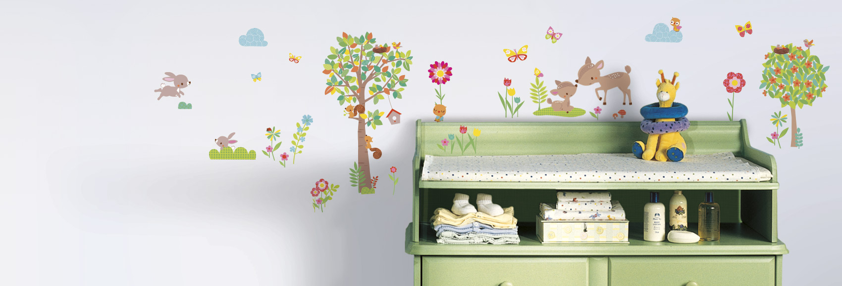 nursery wall decals u0026 wall stickers. nursery GDRVELV