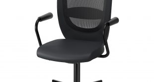 office chairs flintan / nominell swivel chair with armrests, black tested for: 242 lb 8 EOAEVQN