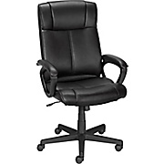 office chairs staples® turcotte luxura® high back office chair, black EVLLAQE