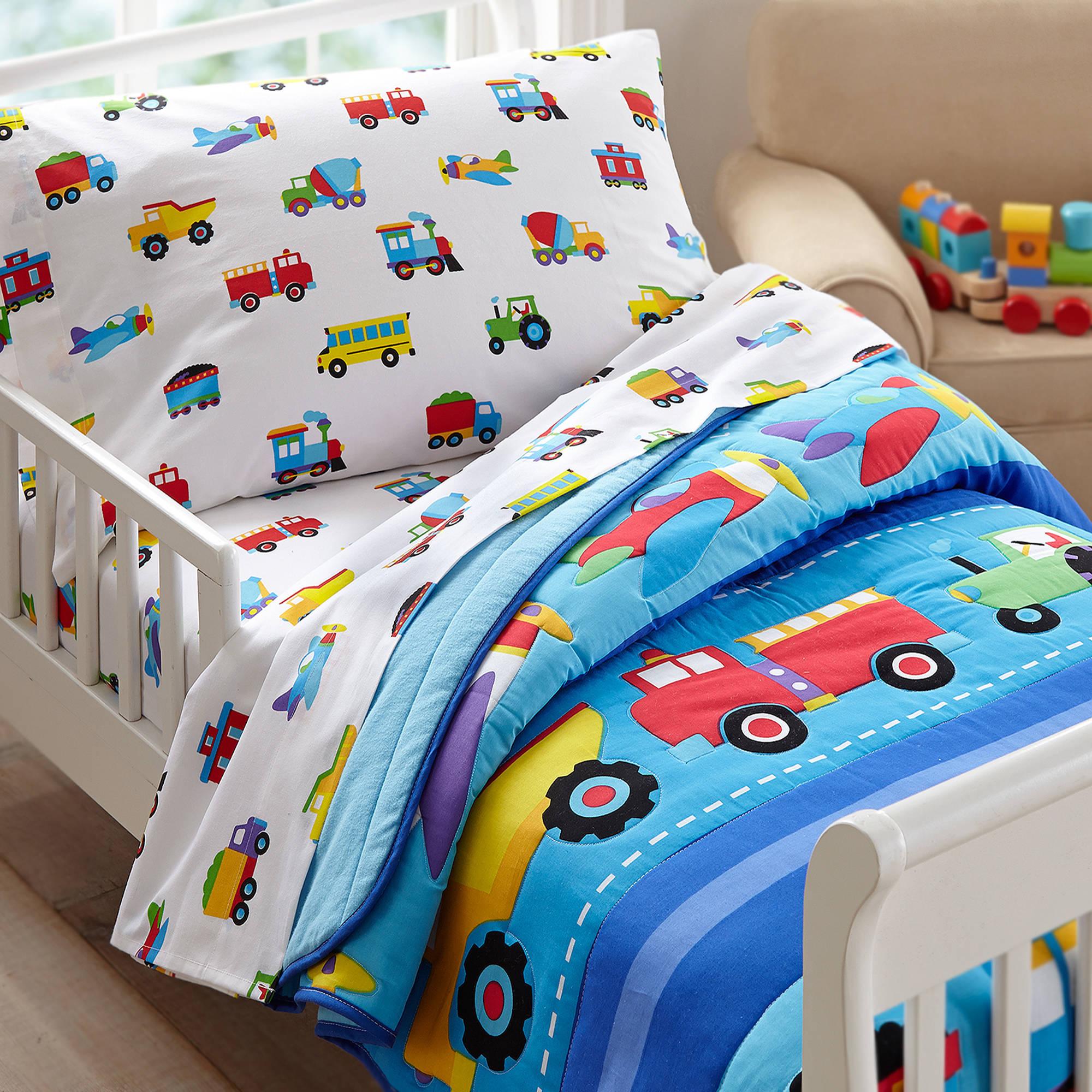 olive kids trains, planes, trucks toddler bedding comforter - walmart.com QZCKQSG