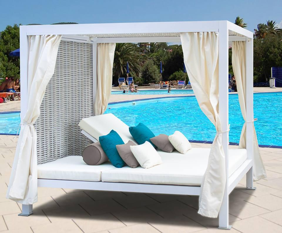 outdoor daybed 2017 new and comfort daytona resin rattan outdoor furniture daybed YPKCZPX