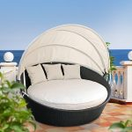 Bring some exotic feel to your space with outdoor daybed