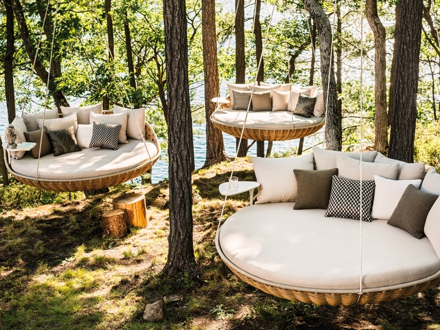 outdoor furniture dedon swingrest at kuhl-linscomb NWADDAO