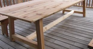 outdoor table large outdoor dining table - cedar...i really like long tables. EYVGUEL