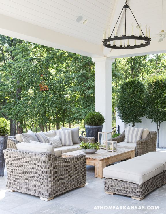 outdoor wicker furniture cushions sets. beautiful collection of back porch  inspiration via OHPCLXN