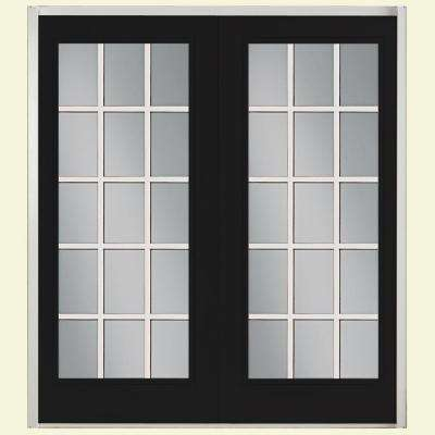 patio doors prehung 15 lite fiberglass patio door ... SPTYREQ