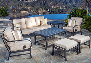 patio furniture collections. seating sets FQNLHUZ