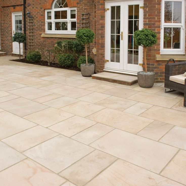 Patio slabs advisable or not for Patio slabs design ideas