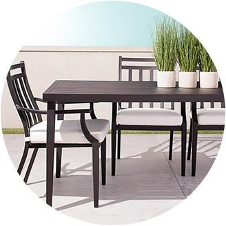 patio table patio furniture sets MRBEYAC