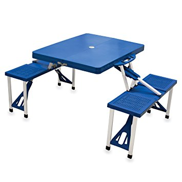 picnic time u0027portable folding picnic tableu0027 with seating for ... ONLSTXU