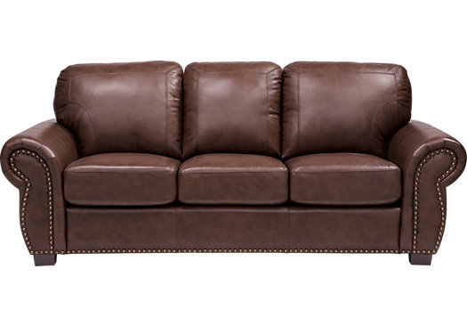 picture of balencia dark brown leather sofa from leather sofas furniture VCHBCAN
