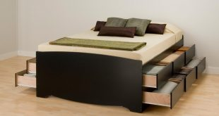 platform bed with storage prepac basic storage platform bed - beds at hayneedle TKACJVU