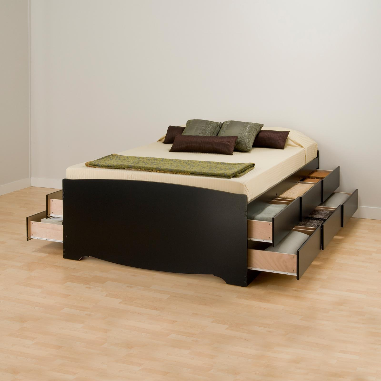 Maximize your bedroom space with platform bed with storage