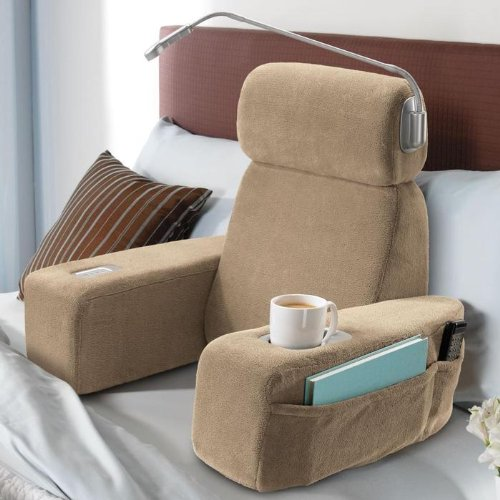 back bl cotton sale reading rest toronto canada cequal buy chair bed on burgundy pillow lounge